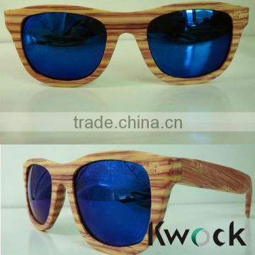Adult Age and Fashion Sunglasses Style Wooden Naked glasses Wholesale In China