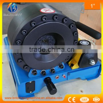 7 set dies for free BNT30A small scale hydraulic hose press machine for Cat  excavator hose pipe , Supplier's Choice