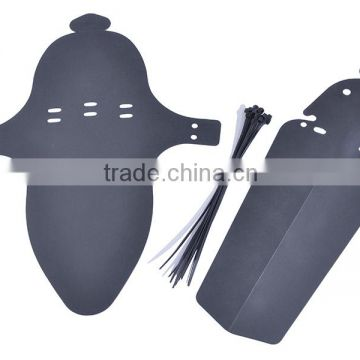 Custom Plastic bicycle front rear mudguard Wholesale
