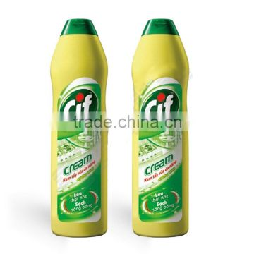 CLEANING CHEMICAL / BATHROOM CLEANING / DETERGENT / CIF Versatile Bleach Cream Lemon 250ml