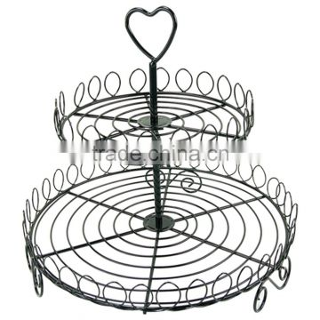 Creative Home Iron Works 2 Tier Cupcake Stans
