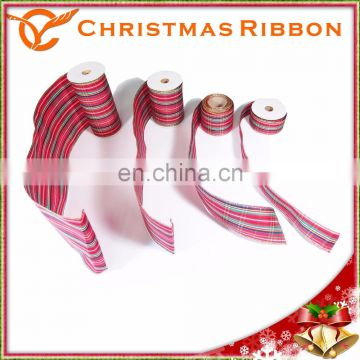 Christmas Nastro On Wreaths, Clothing, Candles, Packaging