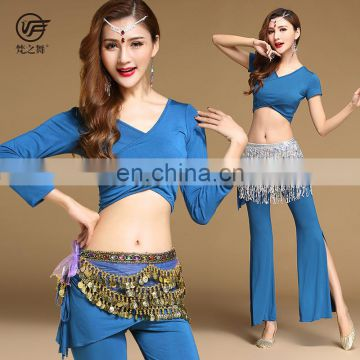 T-5188 Arabic long sleeve wholesales professional belly dance costumes