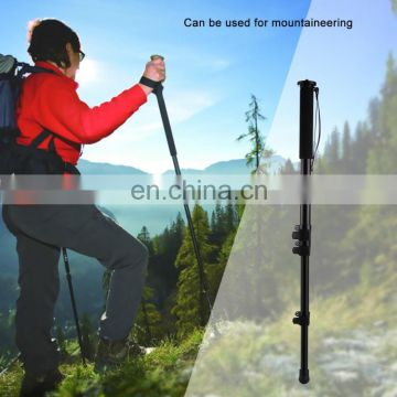 mobile phones 4g action camera access PULUZ Four-Section Telescoping Aluminum Alloy Self-Standing Monopod
