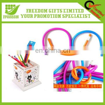 High Quality Eco Friendly Promotional Soft Plastic Flexible Pencil