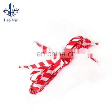 Flat elastic shoelaces bulk shoelace custom sport shoelace