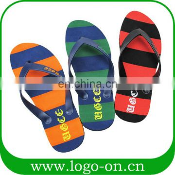 custom rubber flip flops