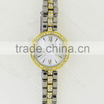 Alloy watch quartz watch with Japanese movement