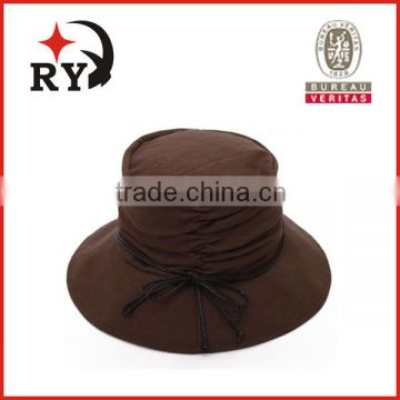 custom Woman sun beach fashion 100% cotton different types of bucket hats  of bucket hat from China Suppliers - 103942617 7b2c9412bf0