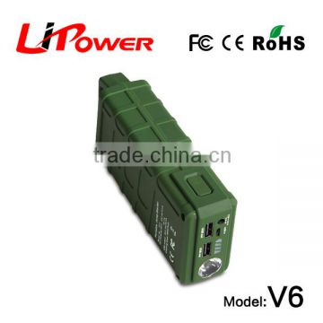 mini size 12000mAh 12v rc car battery 12v car jump starter battery with clips
