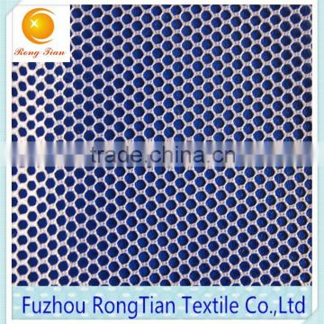 Wholesale 100 polyester tricot 53gsm hexagonal mesh fabric for kitchen cleaning cloth