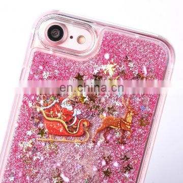 2017 new Christmas gift PC back cover case for iPhone 7 ,solid case for iPhone 7