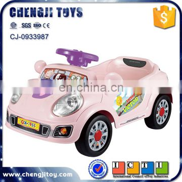 2color Newest 2.4G ride on kids car remote control