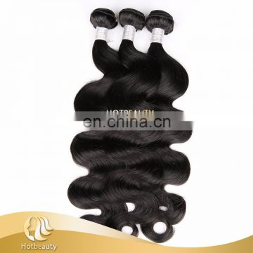 Wholesale price cambodian raw hair unprocessed,100% Peruvian human hair body wave for lady