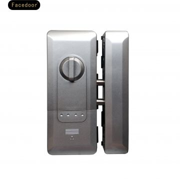 Smart glass door lock Face door fingerprint password glass door lock