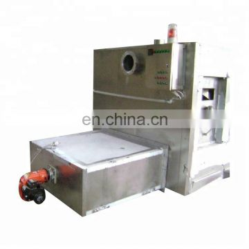 Big capacity Gas Roasted White Coffee Bean Roaster Machine for industrial cooking