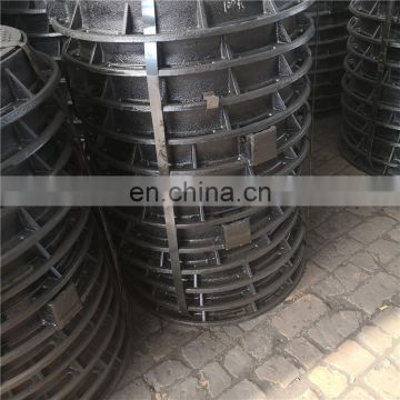 Heavy Duty EN124 D400 Epoxy Coating Ductile Iron Manhole Cover