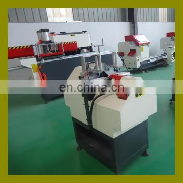 Plastic UPVC PVC window cutting machine for processing glass glazing bead profile