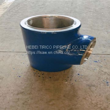 Pvc Cross Tee For Oil / Gas Pvc Saddle Tee