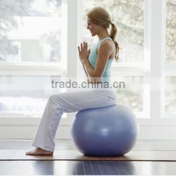 Health Yoga Fitness Ball 75cm & Anti-Burst Bola De Pilates Balance Sport Fitball With Pump