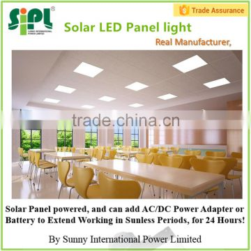 15W LED Panel Lights powered by solar energy
