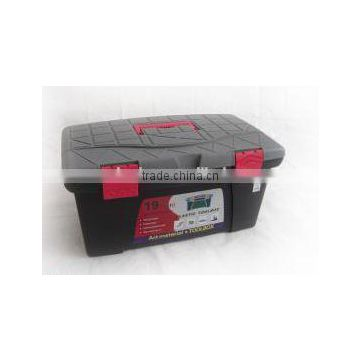 "14"" plastic tool box with handle for carring"