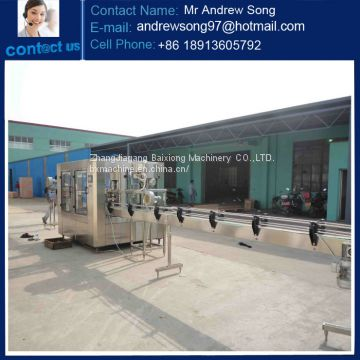 Automatic PET bottled mineral/pure/liquid water filling machine