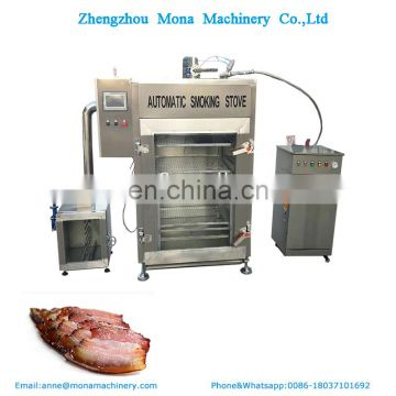 Best quality Hot&Cold fish smoker/smoked fish oven/fish drying machine