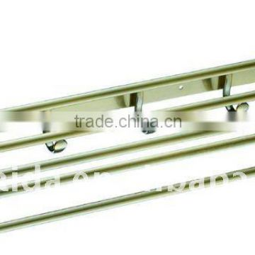 Stainless steel Towel Rack,AB copper plating,movable towel rack H-003