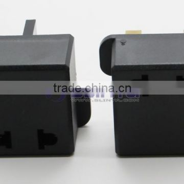 Travel Charger US to UK Plug Adapter Socket Converter