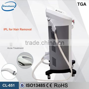 Legs Hair Removal Portable IPL E-light IPL 530-1200nm RF Laser Hair Removal Machine Lips Hair Removal
