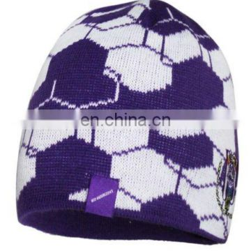 Knitted Hat with embroidery logo
