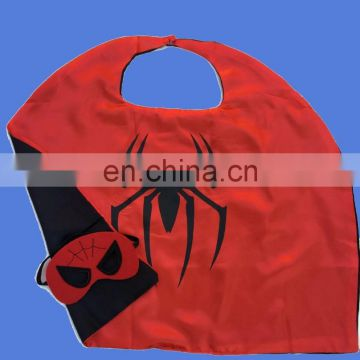 Factory derictly kids Spiderman Superhero Cape and Mask Children Halloween Costume