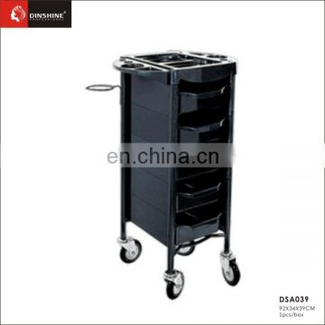 hairdressing beauty salon drawer trolley with 5 drawer