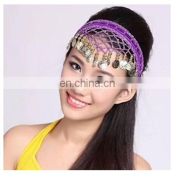P-9035 Arabic professional adult and kid belly dance headwear accessory