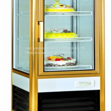 Supermarkets Environmental Protection Refrigerated Bakery Display Case