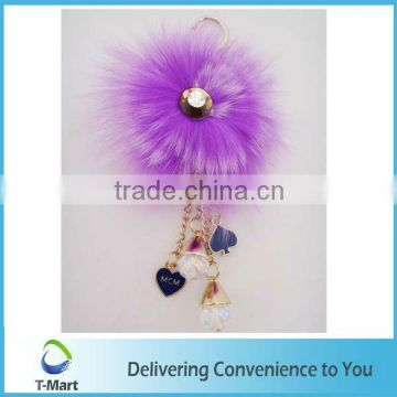 Purple Feather in Pendant for High-Heel, bags, clothings, belts and all decoration