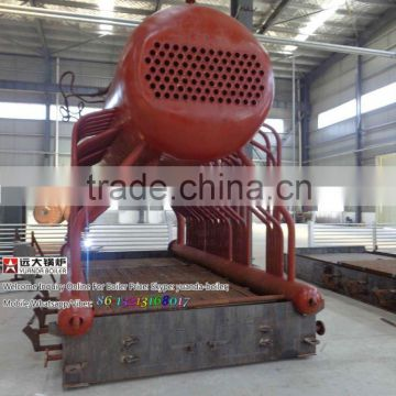 With a capacity of 600BHP small wood fired steam boiler