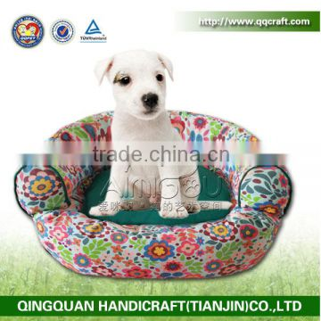 SGS & ISO QQ factory wholesale pet accessories luxury sofa dog bed