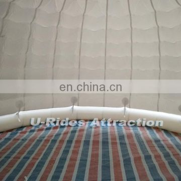 LED chear Inflatable air bubble tent for ourdoor camping