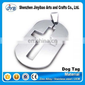 Wholesale bulk cheap personalized christian dog tags