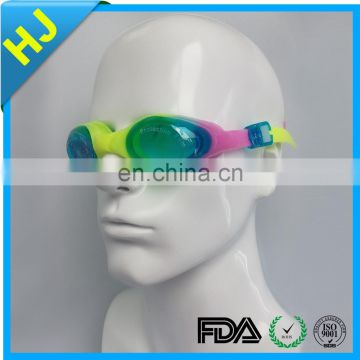 Adult high quality silicone swimming goggles