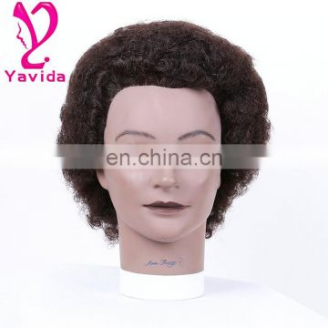 afro training mannequin head head hair afro black wig head