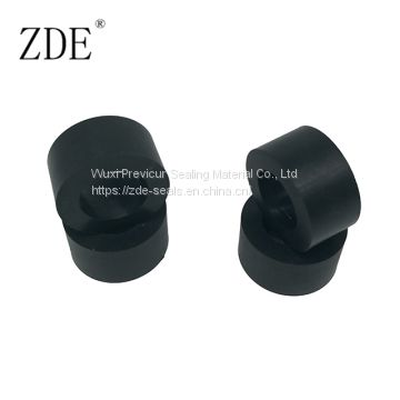 Thick Vibration Isolation Rubber Flat Washer Round Spacer