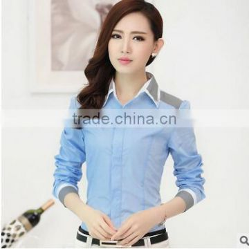 Wholesale Exw Price Ladies Blouses And Tops Ladies Formal Shirts