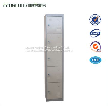 5 Doors KD Construction Gym Steel Locker Metal Storage Cabinet