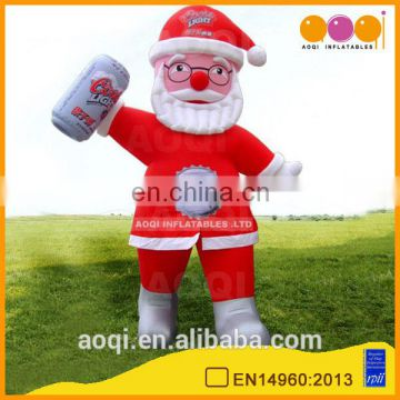 Popular Christmas model inflatable Santa Claus for party decoration