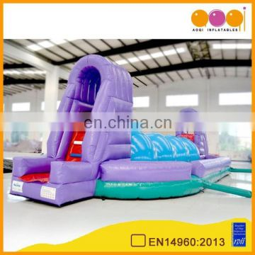AOQI products good guality interesting inflatable pirate obstacle course AQ07124