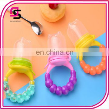 Trendy fashion feeding toy for baby cute fruit vegetable food feeder