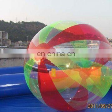 Green+red human hamster ball